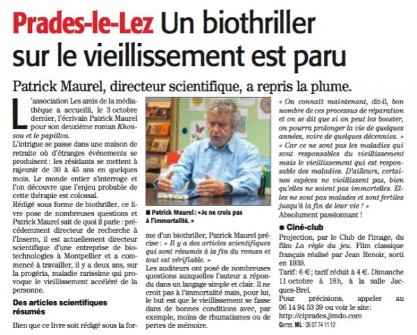 Article midi libre du 11 10 15