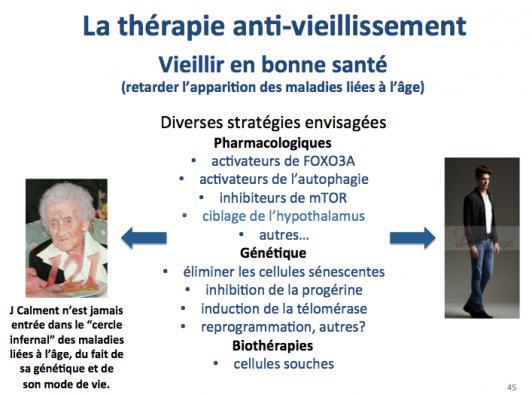 The rapies anti vieillissement 1
