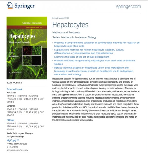 Hepatocytes flyer
